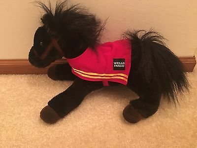 2016 Wells Fargo Horse Mike W/ Blanket Cover