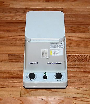Eppendorf 5415C Centrifuge w/ Rotor F45-18-11 & Lid - Microcentrifuge - Working