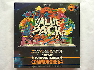 Commodore 64 Games Cassettes - Games Value Pack