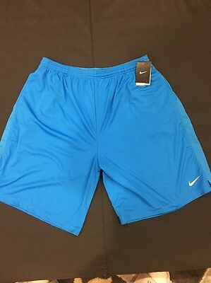 Men's Nike Dri-fit XXL Blue Shorts Training Basketball