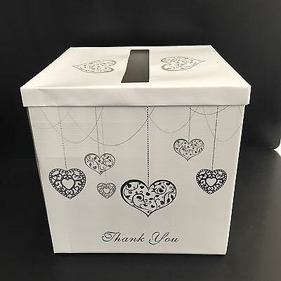 Matching Wedding And Engagement Guest Book And Wishing Well/Card Box