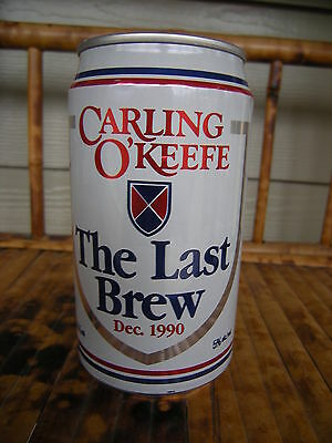 Carling O'Keefe Last Brew Can Beer Vancouver Plant Aug.1910 - Dec 1990 Full