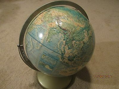 Rand McNally World Portrait Globe Vintage