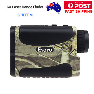 SYDNEY! 1000Yd Laser Range Finder Golf Hunting  Meter Speed Measurer Flagpole