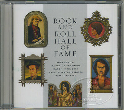ALICE COOPER 2011 Rock And Roll Hall Of Fame Induction Official CD