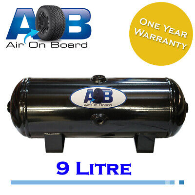 AOB Air Tank 209 9 Litre Steel Black 200psi
