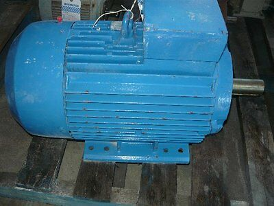 Western Electric 20Hp 3 Phase Electric Motor/ 1460Rpm