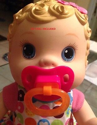 Baby Alive Wet And Wiggles Changing Time Magnetic Pacifier No Doll Included