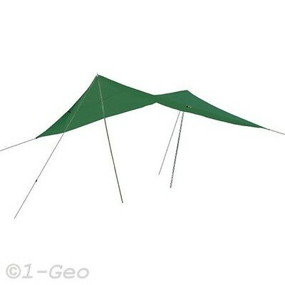 Awning mit Guy line und Eyelets - Happy People 78900 300x400cm Green New