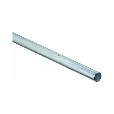 Stanley National Hardware  N179-812 Zinc Plated Steel Smooth Rod 5/8-Inch-by-...