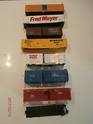 Various Carriage Shells......graveyard...........ho Scale