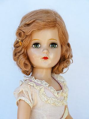 """RARE AND ALL ORIGINAL ! Vintage 1930's """"NANCY LEE"""" 21"""" Composition Doll Arranbee"""