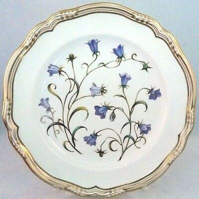 "CAMPANULA Spode made in England SALAD PLATE 7.8"" diameter NEW NEVER USED"