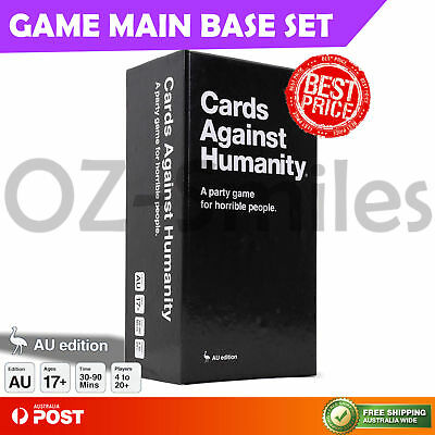 Cards Against Humanity Australian AU V1.7 GAME MAIN Base Set 550 Party Card Game