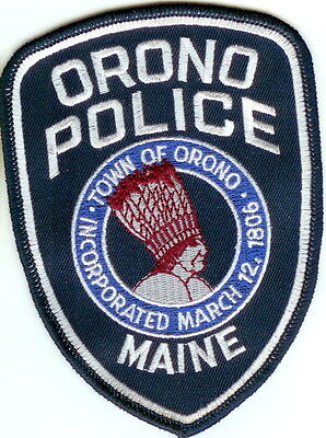 Orono Police Patch Maine ME NEW