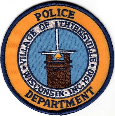 Village of Thiensville Police Patch Wisconsin WI NEW!!