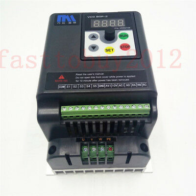 2.2KW 3HP 220V 9.5A 500Hz Motor Drive VFD for Lathe 3 Phase Asynchronous Motor