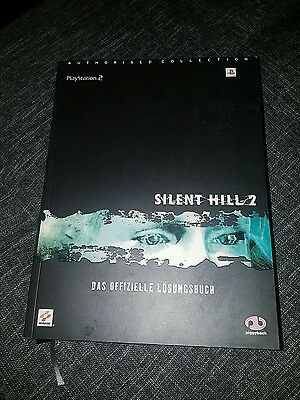 Official Strategy Guide Silent Hill 2  Lösungsbuch