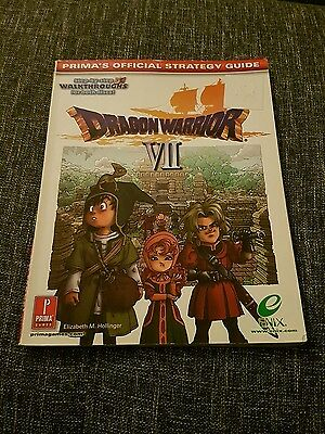 Official Strategy Guide Dragon Warrior VII Lösungsbuch