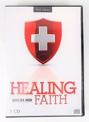 New!~Pastor Kenneth E. Hagin~Faith Library~Healing Faith~Cd Set~Christian Series
