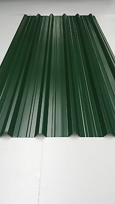 Metal Roof sheets, Juniper Green, Polyester coated, 0.7mm, Roofing and Cladding.