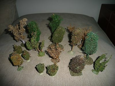 Set Of War Hammer Trees Bushes Scenery Objects