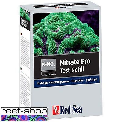 Red Sea Nitrate Pro Test Kit Reagent Refill Nano Coral Reef Tank FREE USA SHIP!