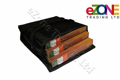 "Pizza Delivery Bag Fully Insulated Professional Quality Heavy Duty 18"" 18"" 6"""