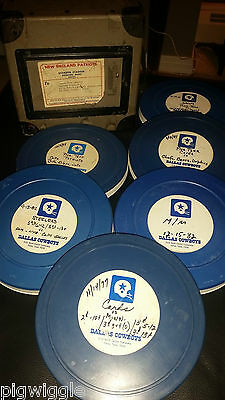 Tom Landry Dallas Cowboys Original Scouting Films 1977 to 1982