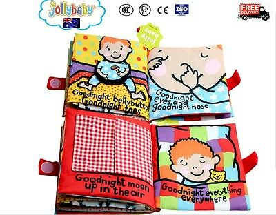 Cognize Book Educational Toy Kid Baby Intelligence development Cloth Fabric