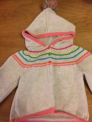 Next Baby Girl Hooded Cardigan 12-18 Months