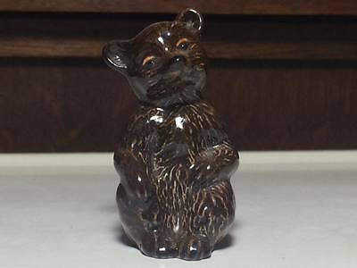 Beswick ceramic Seated Bear Cub figurine Model No. 1315 made in Enlgand