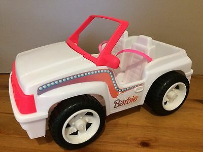 Barbie Jeep Mattel 1994 vintage car with seatbelts- for barbie doll