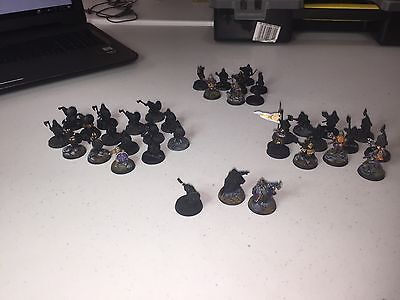 Games Workshop LOTR Dwarves , 34x Dwarves  and Dwarf Heroes