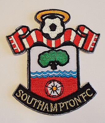 Southampton FC The saints Crest Iron on/sew on soccer football patch badge