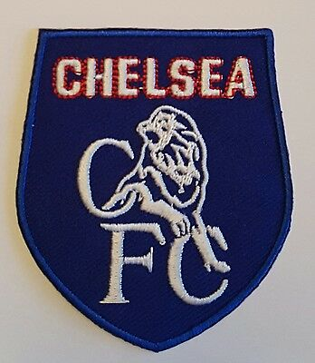 Chelsea FC Retro Crest Iron on/sew on soccer football patch badge