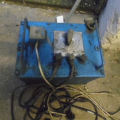 oxford oil cooled welder