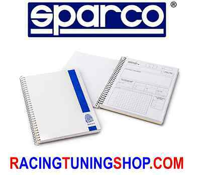 Quaderno Note Sparco X Navigatore Codriver Note Pad Sparco For Rally