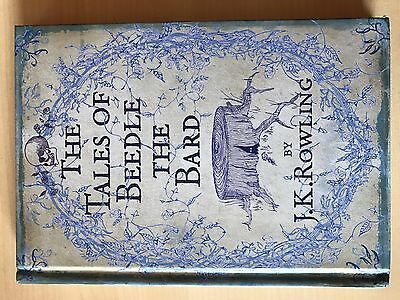 """Libro """"The Tales of Beedle the Bard"""""""