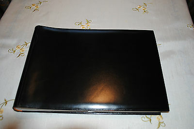 Gucci Brand Black Leather Sleeved Large Photo Album