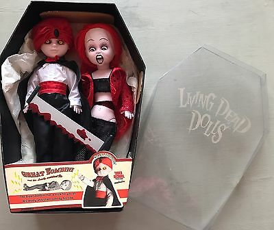 The Great Zombini And Viv - Living Dead Dolls