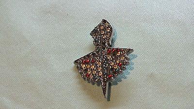 Festival of Britain 1951 Brooch BadgeSilver tone with red/white and blue stones.