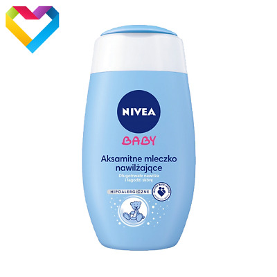 NIVEA BABY MOISTURIZING SILKY BODY LOTION HYPOALLERGENIC 200ml 80562