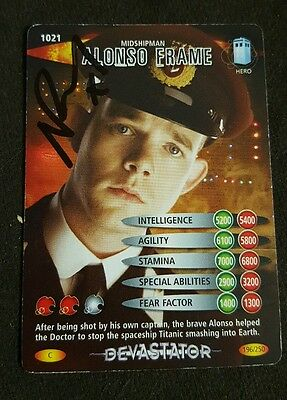 Dr Who Russell Tovey as Alonso Frame Autograph Card Battles in Time