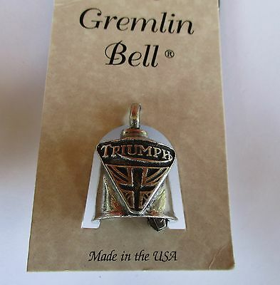 Triumph motorcycle Gremlin Bell Protection Quality biker men's shed sports