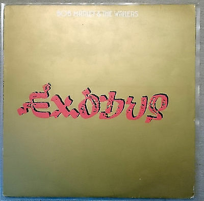 Bob Marley & The Wailers - Exodus Embossed 1977 UK 1st Issue Vinyl LP