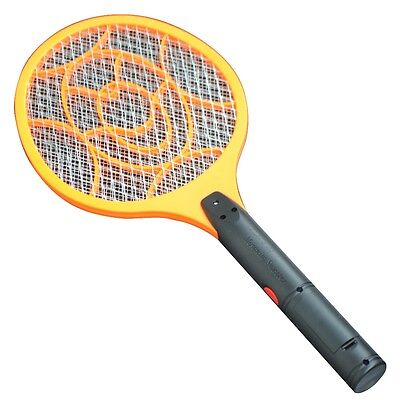 3 Layers Electric Swatter Bug Zapper Mosquito Fly Insect Killer Battery Powered