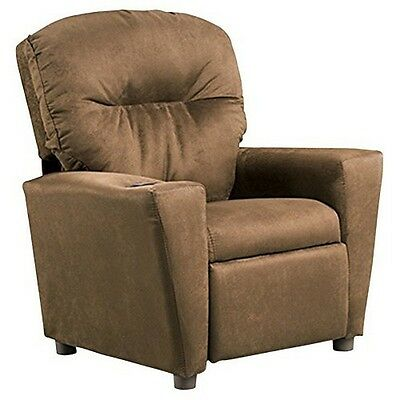 Kidz World 1300-1-OS Orange Suede Kids Recliner NEW