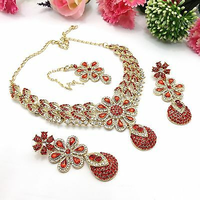 Indian Asian Bridal Bollywood Jewellery Party Ethnic Wear Necklace Set