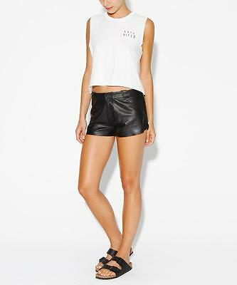 KSUBI Get Lucky Leather Short size M/10 BNWT general pants RRP $199.95
